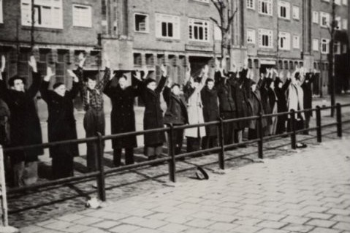 Nazi Razzia in Amsterdam