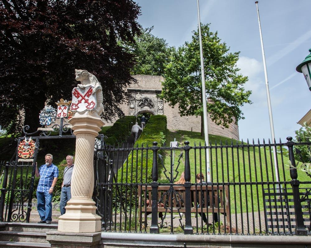 De Burcht, city castle in Leiden