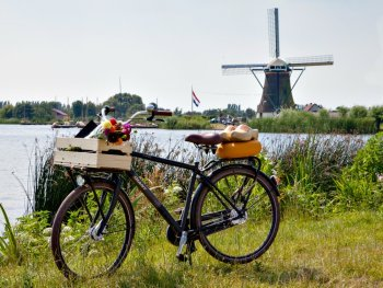 The Dutch Windmill Bike Tour in Kaag en Braassem