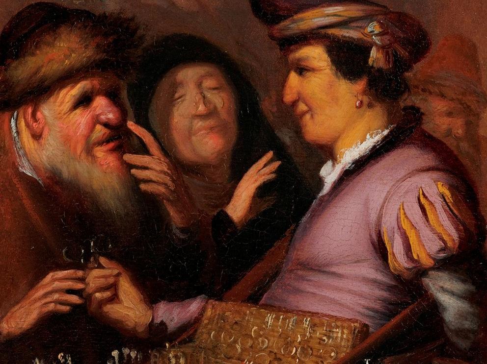 Rembrandt's Spectacles Salesman