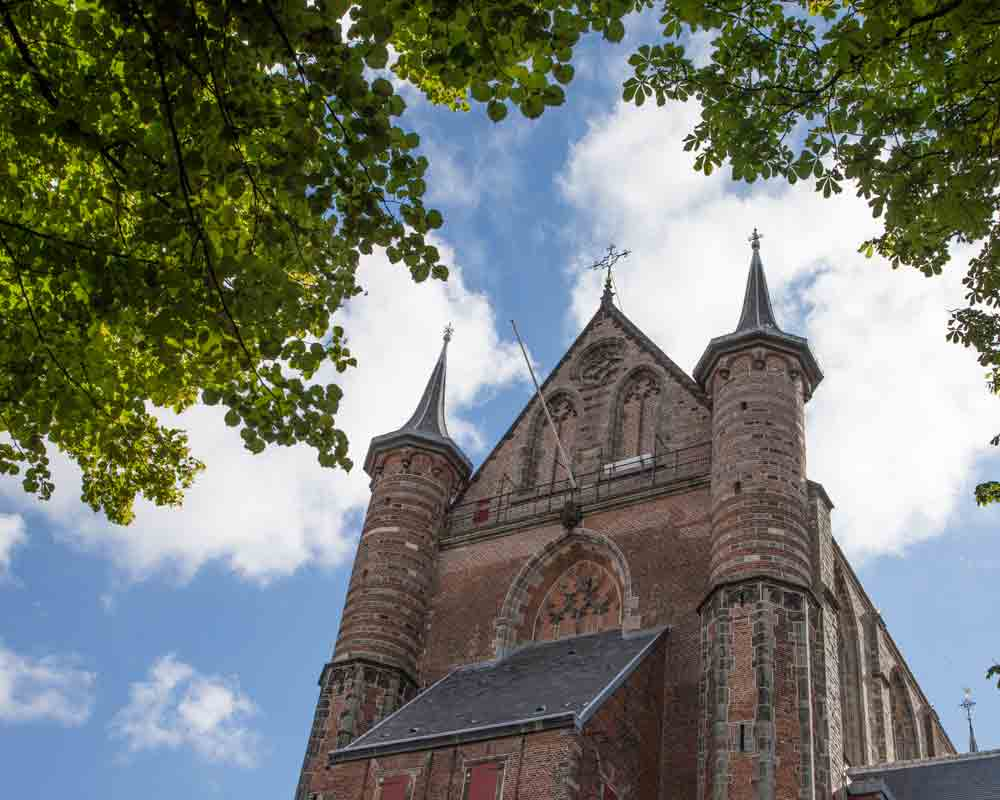 St. Peters Church in Leiden.