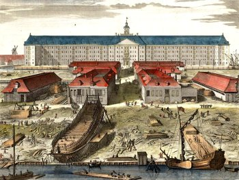 VOC Shipyard in the 17th century