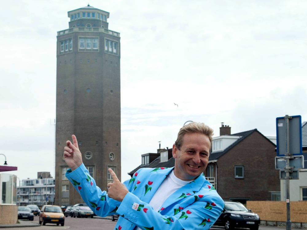 The water tower in the village of Zandvoort