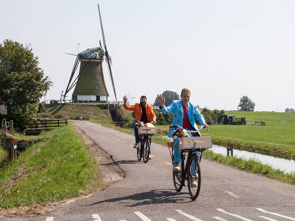 Cycling through Kaag en Braassem