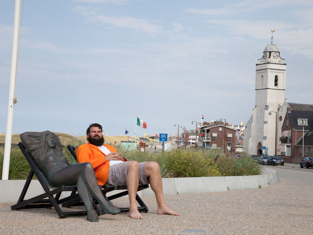 Laid back and cozy Katwijk Beach