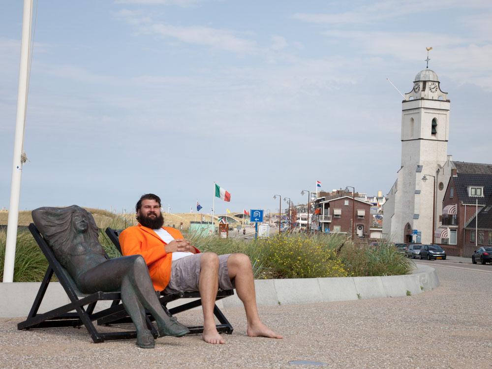Relaxing in Katwijk aan Zee