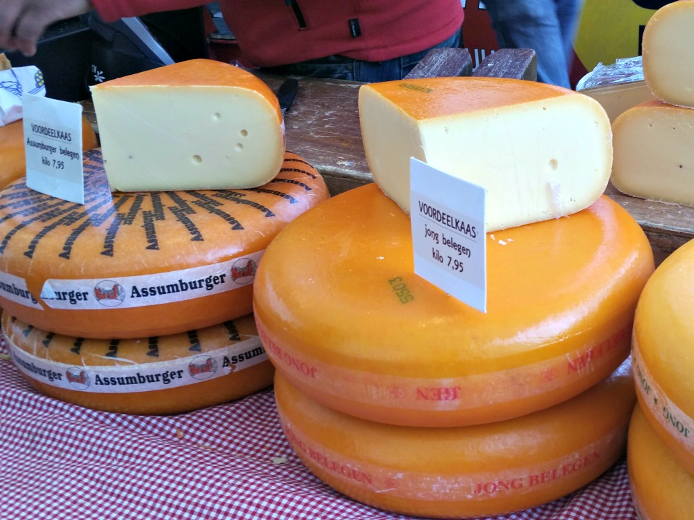 Delicious Dutch cheese