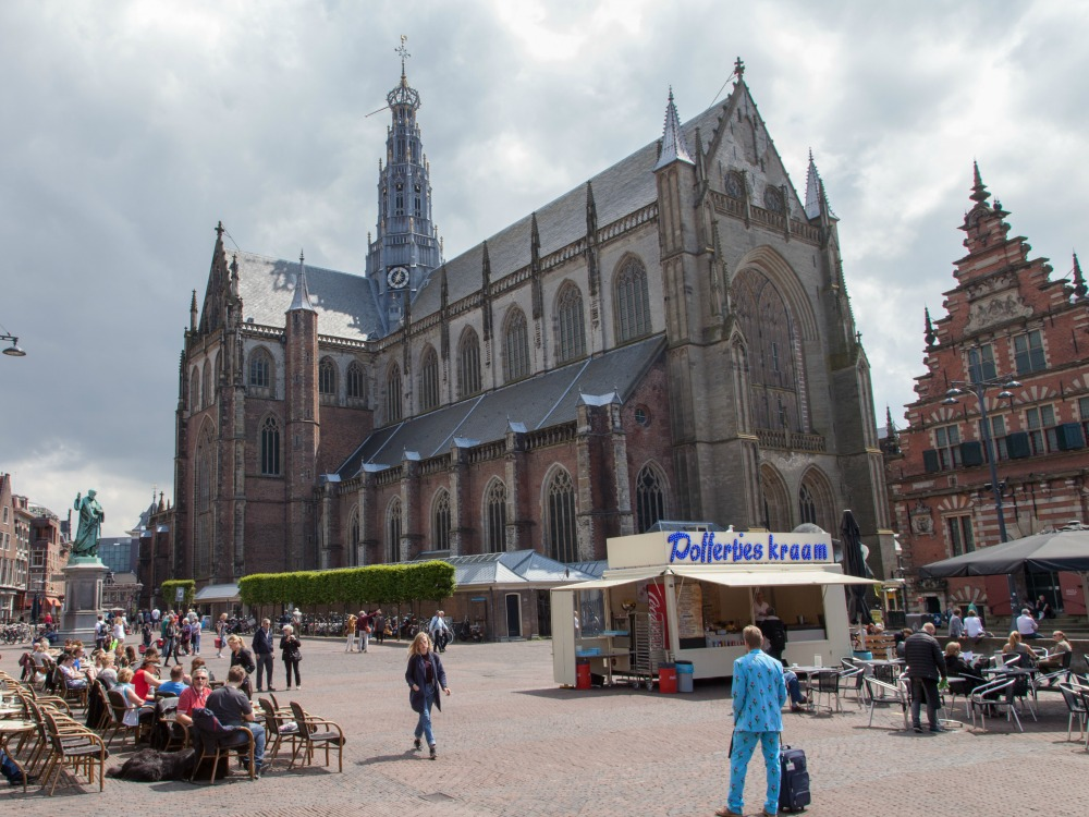The Grote Markt in Haarlem