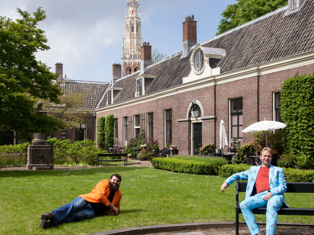 Relax in one of the Hofjes of Haarlem