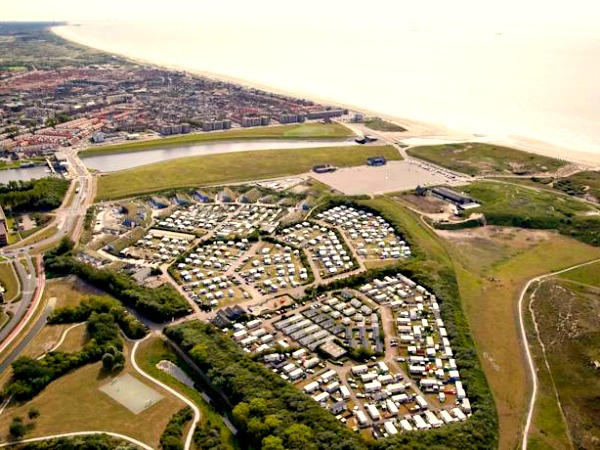 Aerial view of Holiday Park Noordduinen