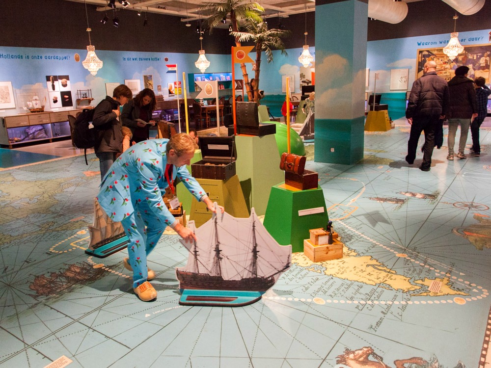 Interactive exhibition  in the Maritime Museum
