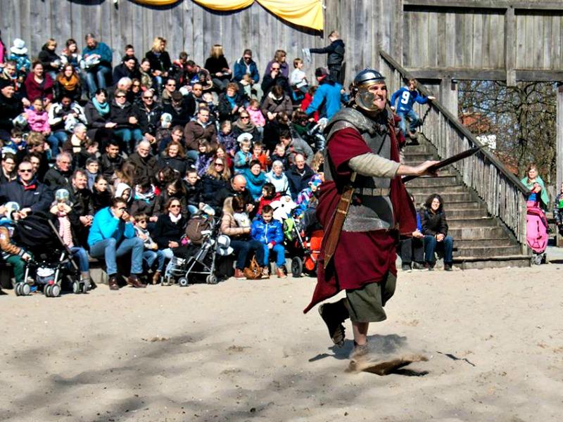 Jan as Roman Legionair in Archeon