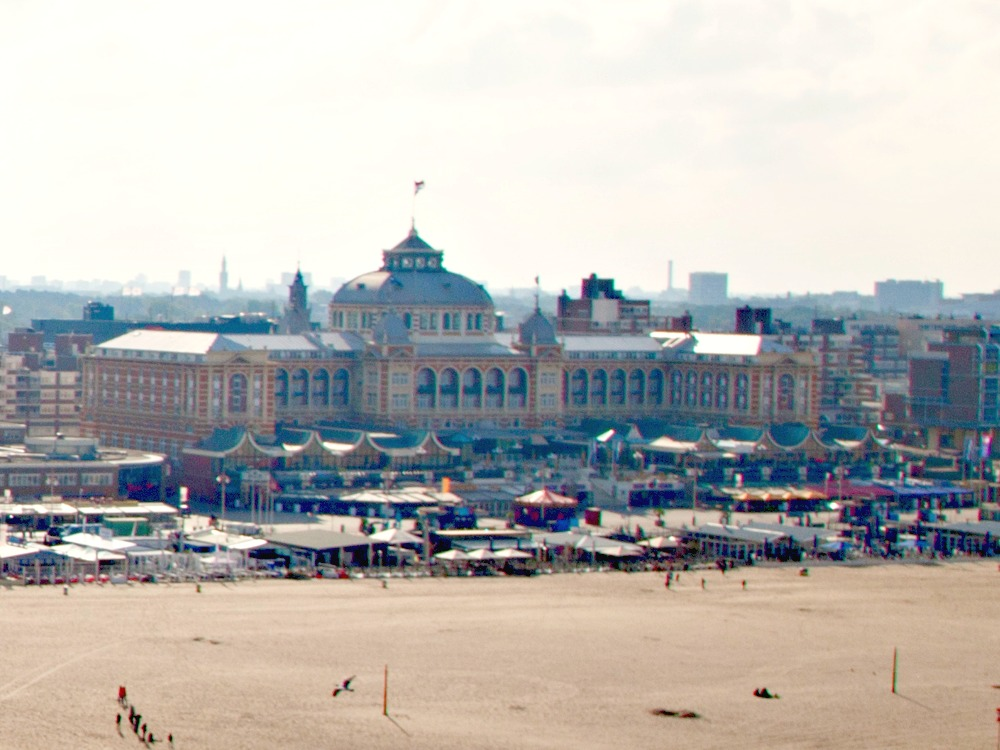 The Kurhaus at the boulevard in Scheveningen