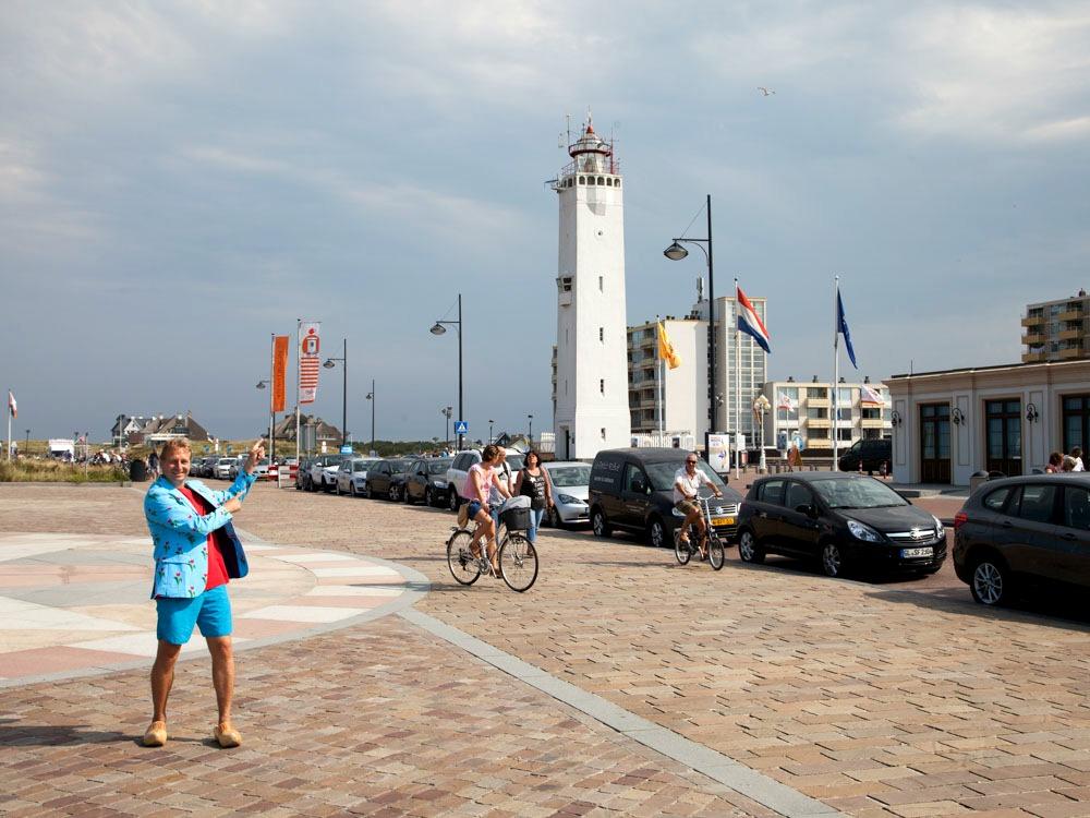 The lighthouse at Noordwijk Beach