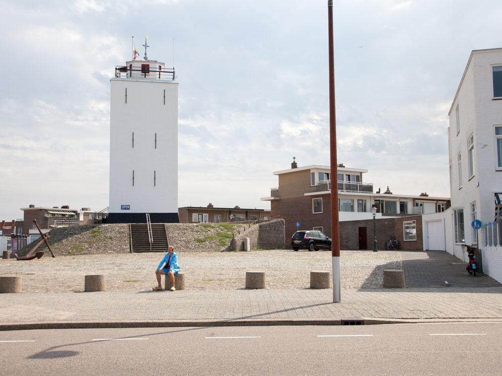 Lighthouse De Vuurbaak in Katwijk aan Zee