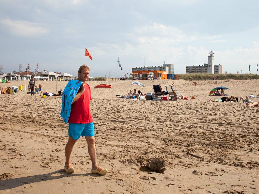 Patrick at the Beach in Noordwijk