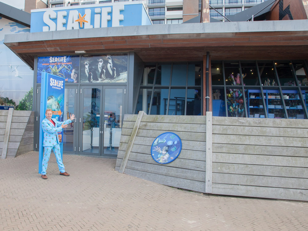 Sea Life at the boulevard in Scheveningen
