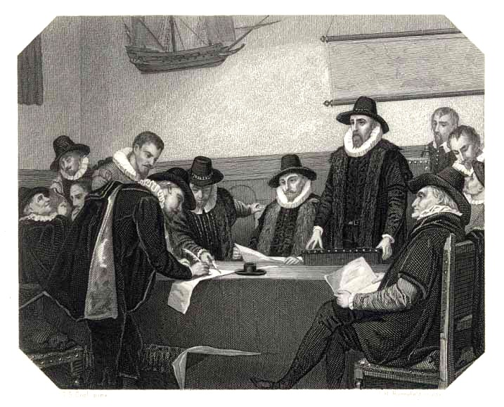 Steel engraving by Cool and Rennefeld of the formation of the VOC