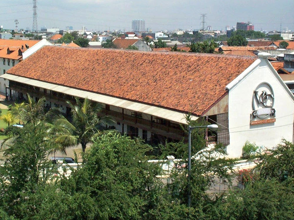 VOC Warehouse in present-day Jakarta, Indonesia