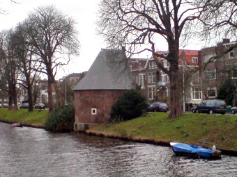 Walltower from the Spanish Siege in Leiden