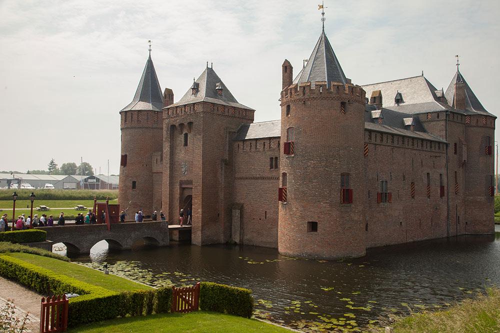 Muiderslot castle, medieval castle near Amsterdam